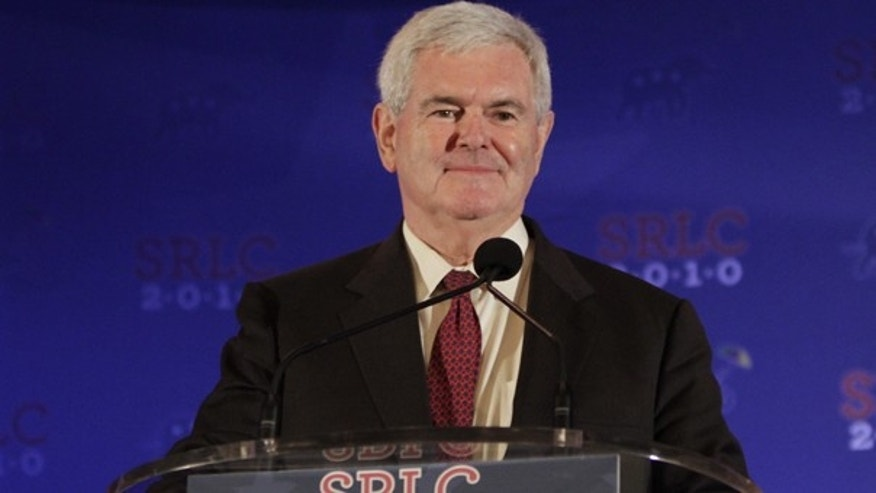 Former Speaker of the House Newt Gingrich