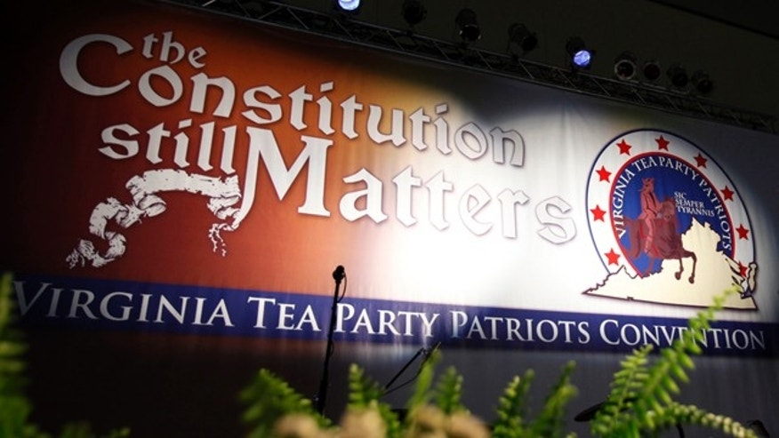 Virginia Tea Party Patriots Convention in Richmond, Va.