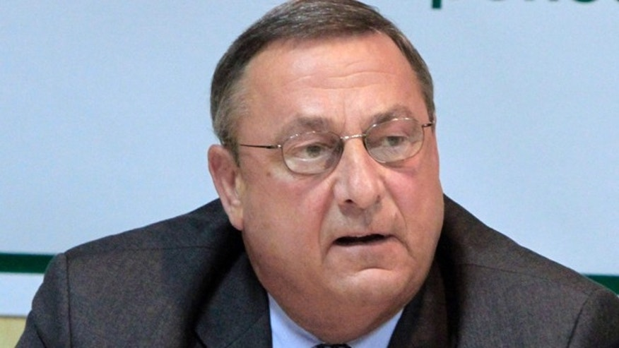 Sept. 21: Maine Republican gubernatorial candidate Paul LePage speaks in Waterville, Maine.