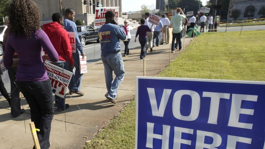 Early voting on October 18, 2010 in Arkansas (AP Photo)