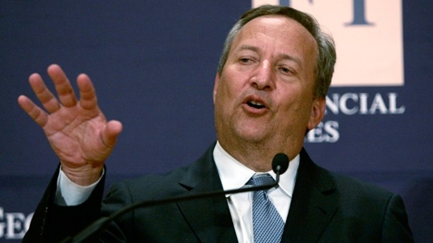 Larry Summers, Director of the White House National Economic Council for President Obama