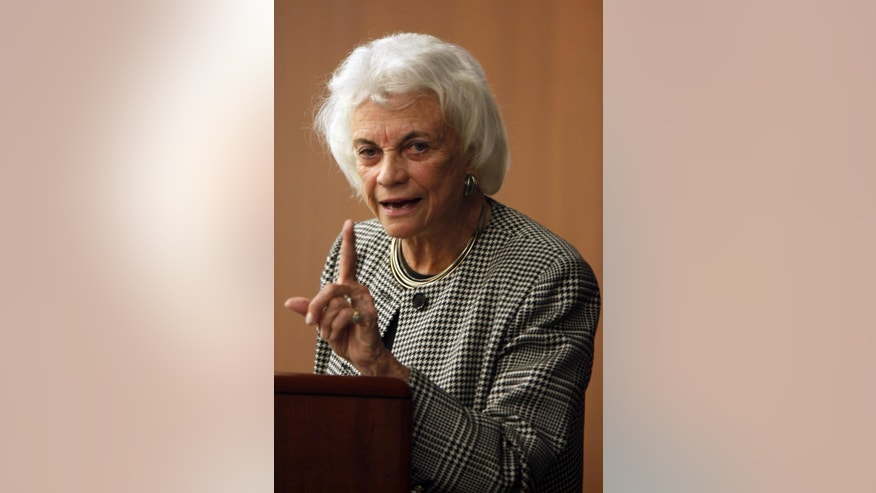 Former Supreme Court Justice Sandra Day O'Connor (AP Photo/Mary Altaffer)