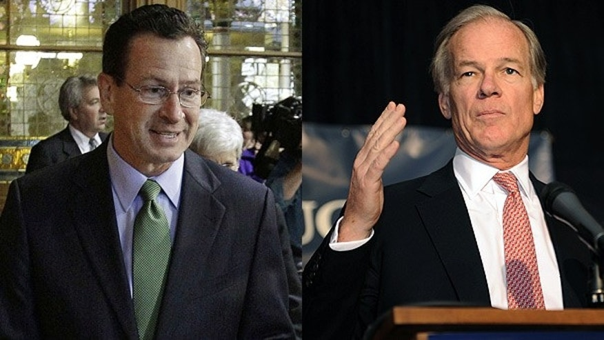 Nov. 3: Democrat Dan Malloy, left, and Republican Tom Foley, both candidates for Connecticut governor.