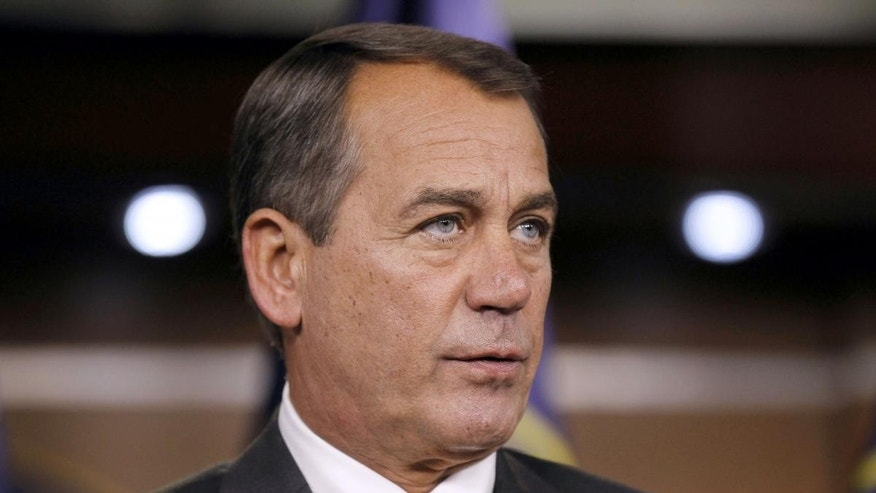 Representative John Boehner (R-OH). (AP Photo)
