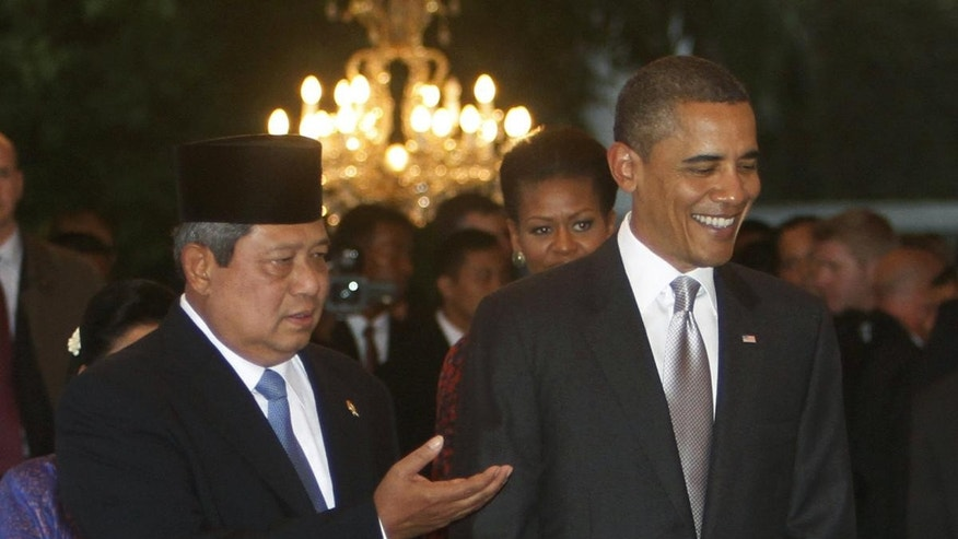 Obama in Indonesia (AP Photo)
