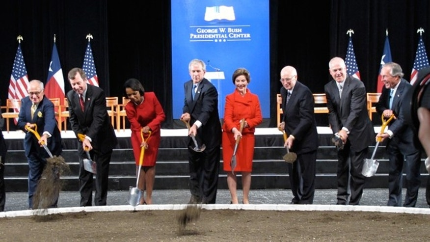 Nov. 16: The ground breaking ceremony for the President George W. Bush Presidential Center in Dallas.