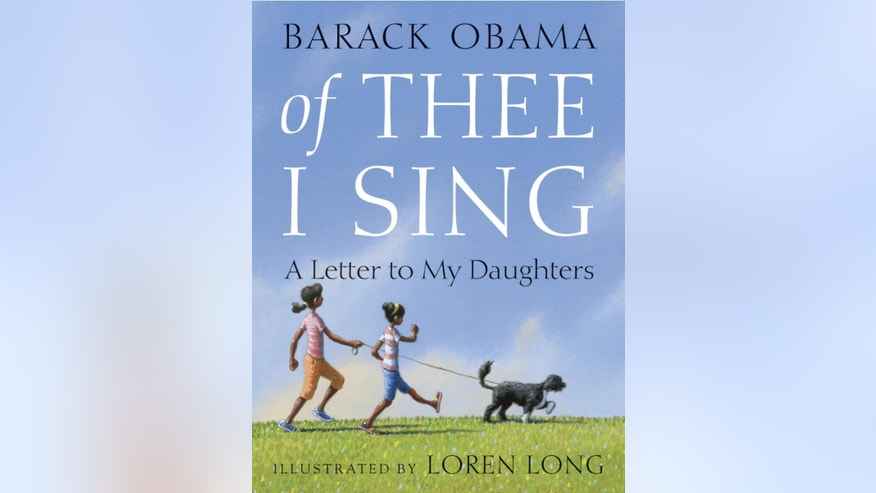 President Obama's newest book cover (AP Photo)