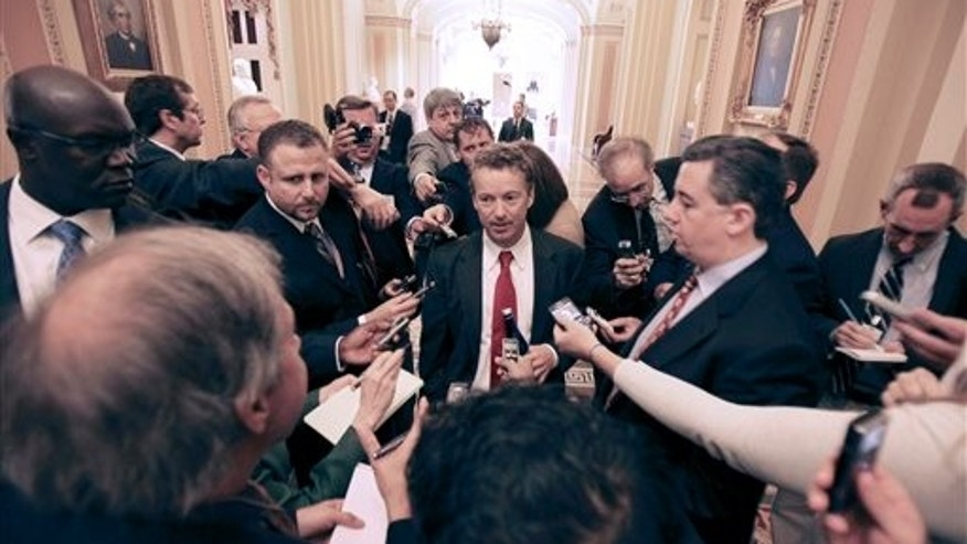 Rand Paul at the U.S. Capitol on November 15