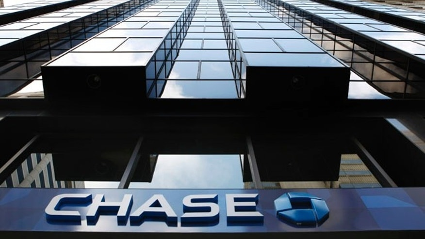 File photo showing Chase Bank in San Francisco, one of the companies named by the Federal Reserve that used its emergency loan programs during the financial crisis.