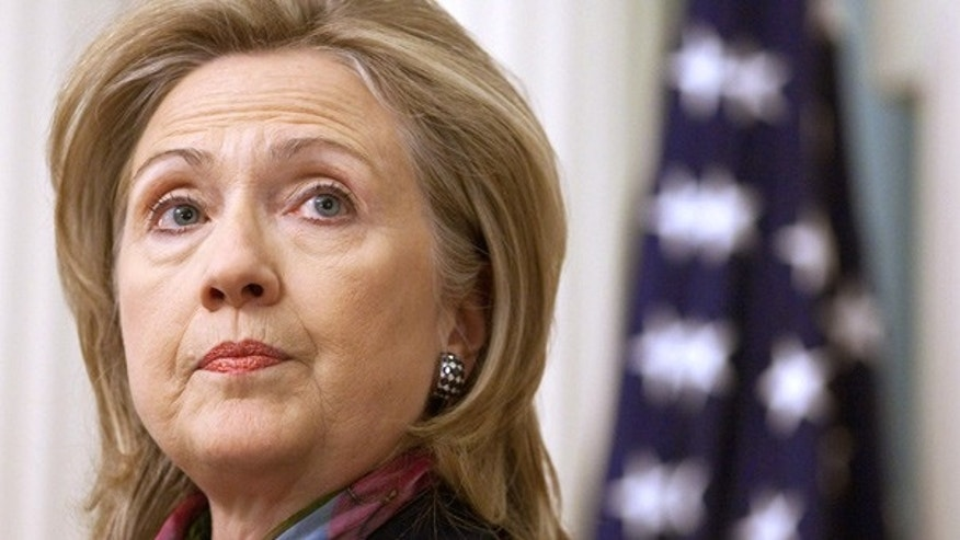 Nov. 29: Secretary of State Hillary Clinton makes a statement on the leak of U.S. diplomatic cables.