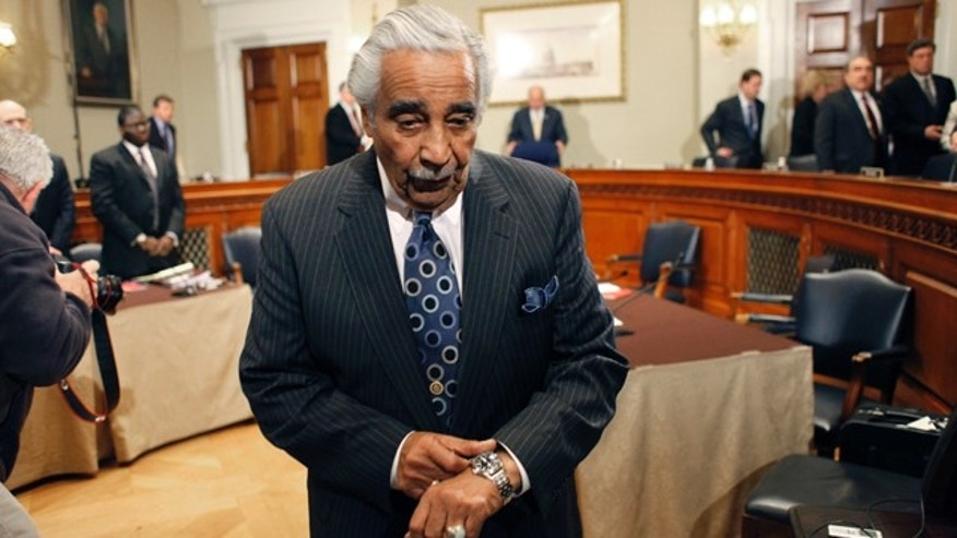Nov. 18: Rep. Charles Rangel, D, N.Y., leaves after the House ethics committee recommended that he be censured and pay any unpaid taxes for financial and fundraising misconduct on Capitol Hill in Washington.