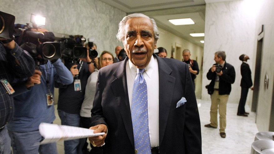 Dec. 2: Rep. Charles Rangel, D-N.Y., goes to the House floor for a series of votes, on Capitol Hill. The House voted to formally censure Rep. Rangel for financial misconduct despite pleas from the New York Democratic lawmaker and some of his colleagues for a less punishing reprimand.