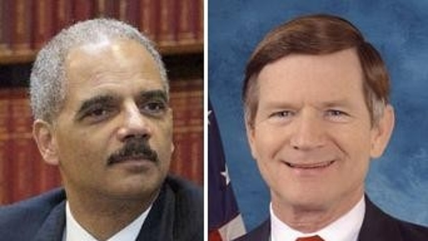 Eric Holder / Lamar Smith