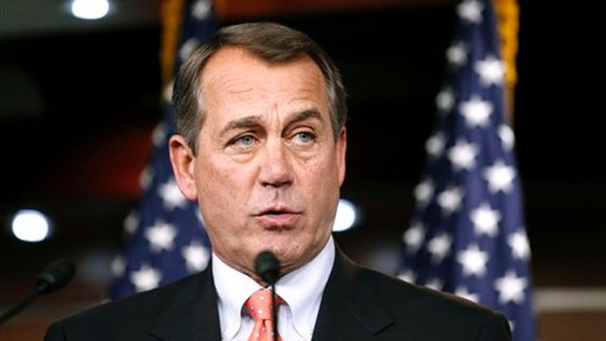 House Minority Leader John Boehner speaks at a news conference on Capitol Hill Dec. 2. (AP Photo)