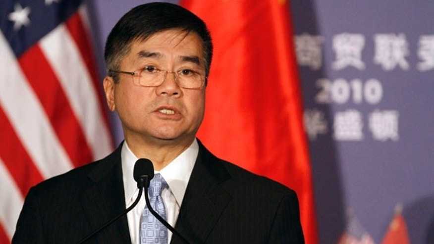 "Dec. 15: U.S. Commerce Secretary Gary Locke speaks at a signing ceremony at the US-China JOint Commission Commerce and Trade in Washington. The Commerce Department is calling for the creation of a ""privacy bill of rights"" for Internet users."