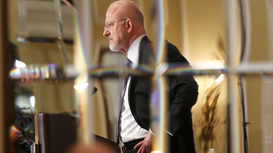 Oct. 6, 2010: U.S. Director of National Intelligence James Clapper speaks during a Bipartisan Policy Center meeting at the Willard Intercontinental Hotel in Washington, DC.