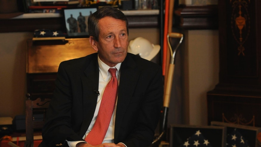 Dec. 14, 2010: S.C. Gov. Mark Sanford talks with Associated Press reporters in his office in Columbia, S.C. about his time in office and his future. Gov. Mark Sanford, who famously had affair with an Argentine woman, will be replaced by his chosen successor.