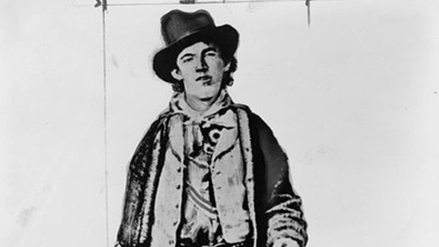 Henry McCarty, a.k.a. Billy the Kid, is pictured in this undated photograph obtained by Reuters.