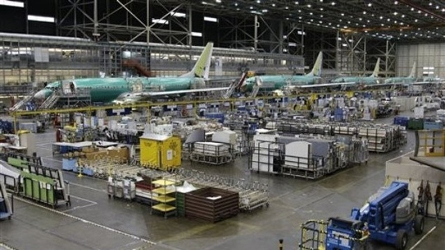 Boeing Co. 737 airplanes are shown at the company's assembly facility in Renton, Wash., on Oct. 26. Boeing is the kind of company that could be affected by a new rule regarding foreign workers.
