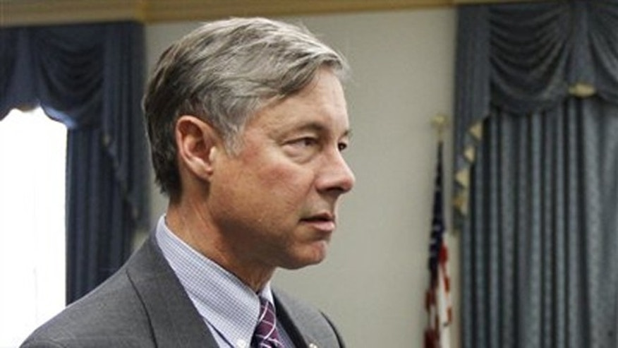 In this Dec. 1 photo, Rep. Fred Upton, R-Mich., is shown on Capitol Hill in Washington.