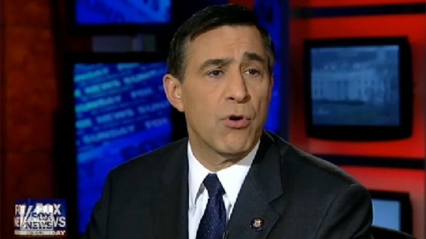 "Rep. Darrell Issa speaks on ""Fox News Sunday"" on Jan. 2."