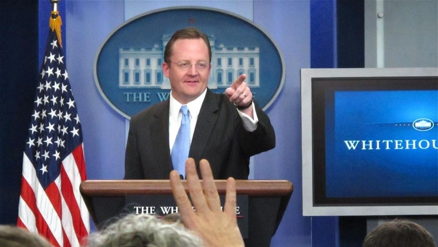 Press Secretary Robert Gibbs takes questions during the White House briefing on Wednesday, January 5th. (Fox News Photo)