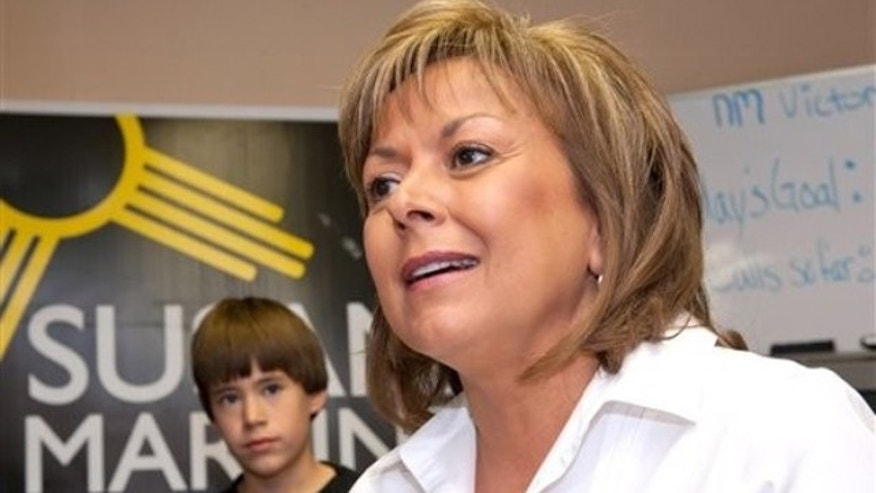 New Mexico Gov. Susana Martinez (AP)