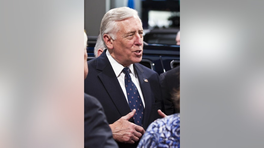 U.S. Rep. Steny H. Hoyer, D-Md., (File AP Photo/Tony Ding)