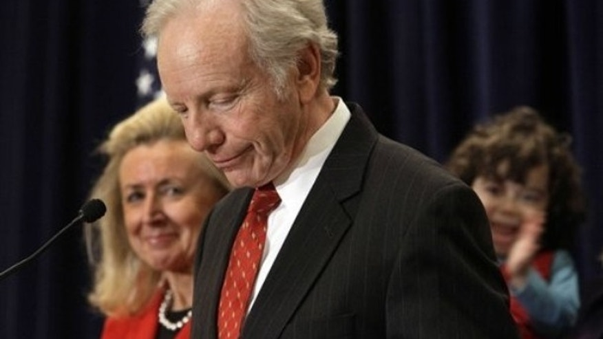 Wednesday: U.S. Sen. Joseph Lieberman, I-Conn., accompanied by his wife, Hadassah, announced he is retiring in 2012.