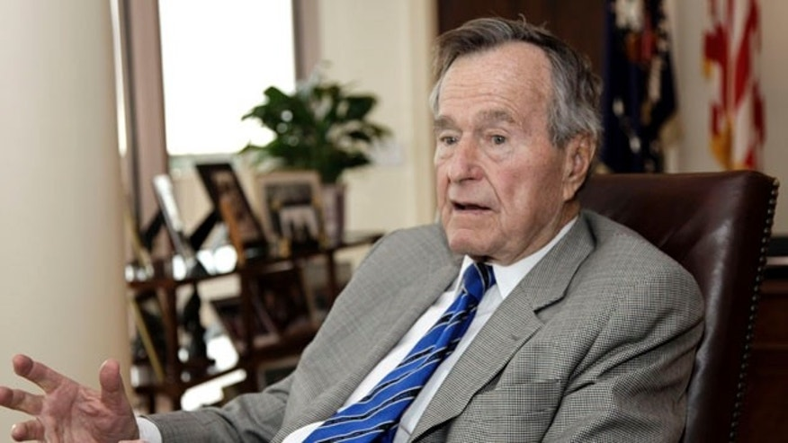 Jan. 18: Former U.S. President George H.W. Bush talks about the Gulf War and liberation of Kuwait, which began 20 years ago this week, during an interview in Houston.