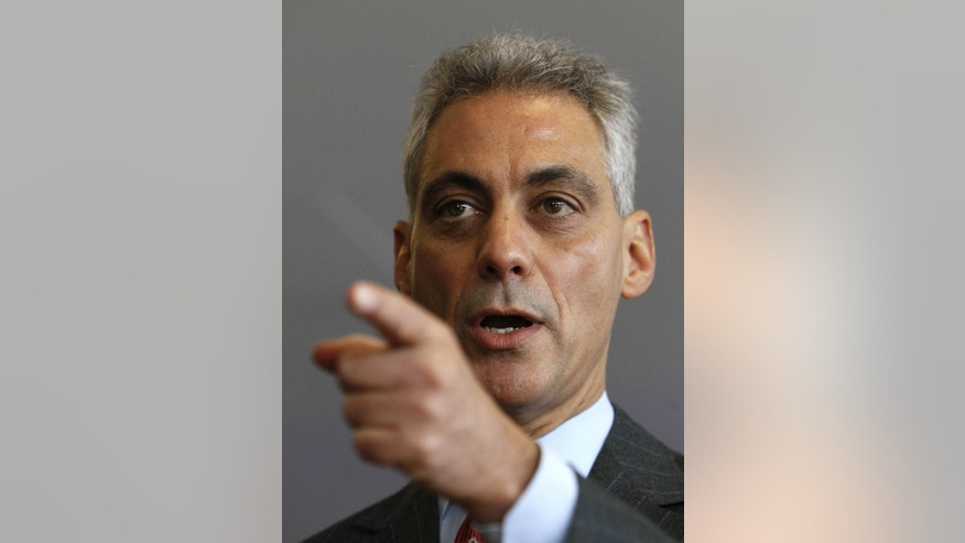Chicago Mayoral Candidate Rahm Emanuel (File AP Photo)