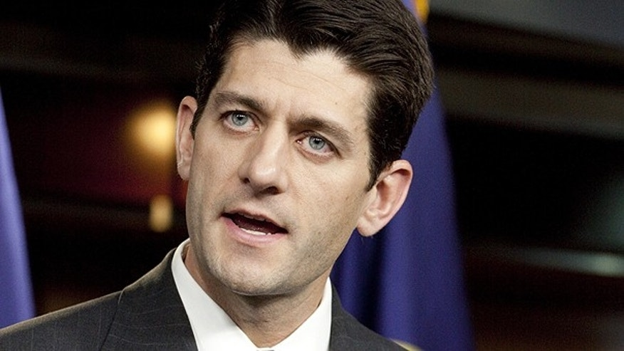 April 15, 2010: Rep. Paul Ryan, R-Wis., chairman of the House Budget Committee, speaks on Capitol Hill.