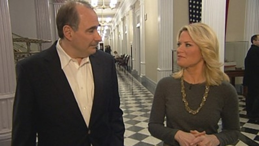 Fox News' Martha MacCallum interviews outgoing White House senior adviser David Axelrod.