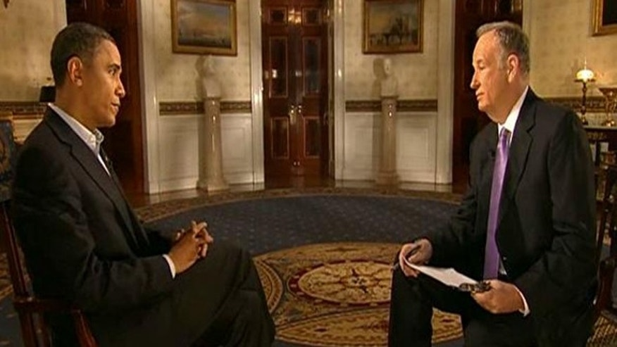 Feb. 6, 2011: Fox News' Bill O'Reilly interviews President Obama.