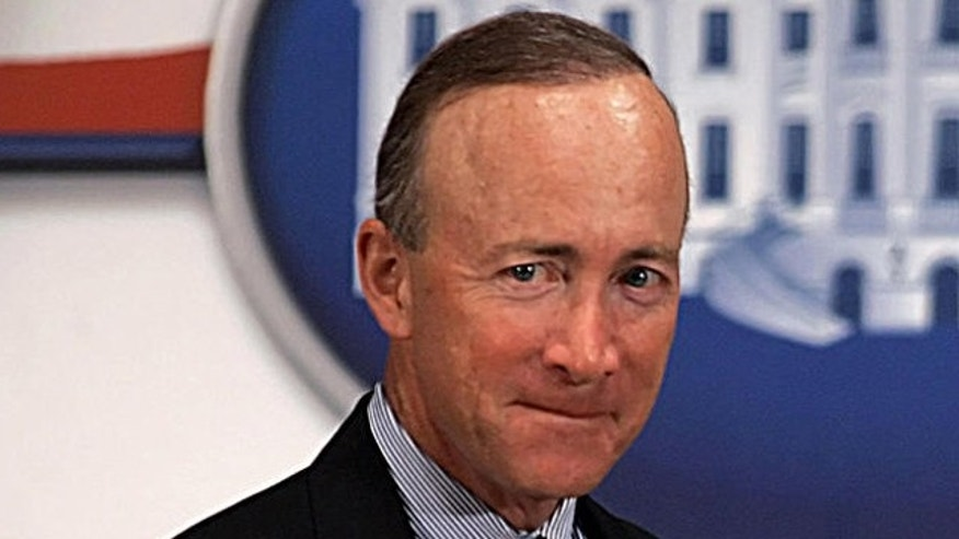 Indiana Gov. Mitch Daniels, seen in this file photo, is one of 21 Republican governors who sent a letter to the Obama administration criticizing the nations new health care law.