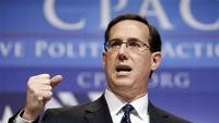 Former Sen. Rick Santorum (AP Photo)