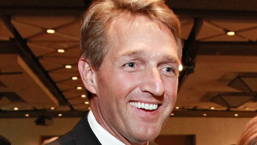 FILE: Nov. 2, 2010:  Rep. Jeff Flake, R-Ariz., at an event in Phoenix.