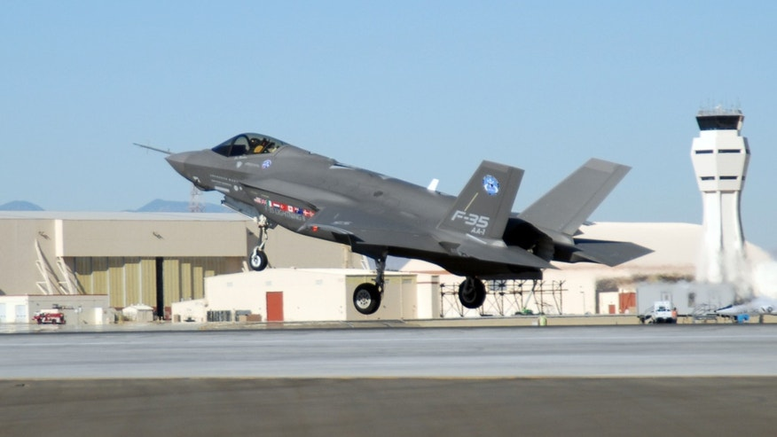 F-35 at Edwards Air Force Base