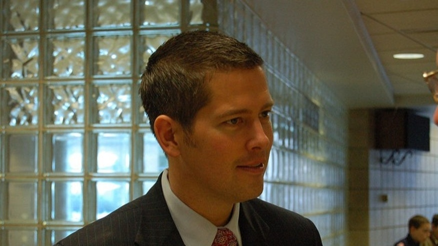 Freshman Rep. Sean Duffy in a photo from Jan. 22, 2011