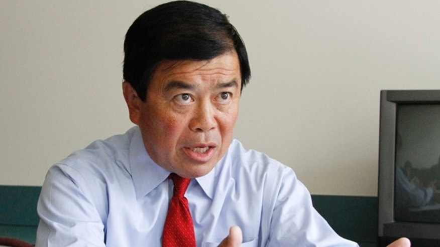 In this Aug. 17, 2010 file  photo, Congressman David Wu, D-Ore., speaks during an interview in Portland, Ore.