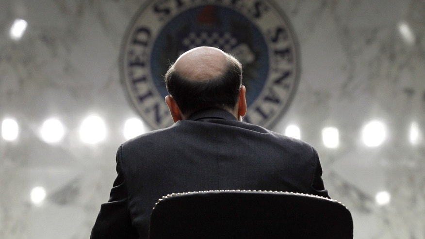 March. 1: Federal Reserve Chairman Ben Bernanke gives the Semiannual Monetary Policy Report to Congress while testifying before the Senate Banking Committee on Capitol Hill.