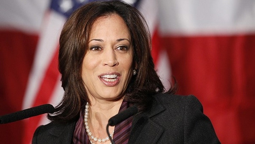 Nov. 30, 2010: California Attorney General Kamala Harris gives her first news conference in Los Angeles. Harris asked a federal appeals court on March 1, 2011 to allow gay marriages to resume while the court considers the constitutionality of the state's voter approved ban on same sex unions.