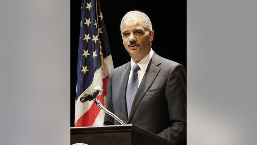 Attorney General Eric Holder (AP File Photo/Darron Cummings)