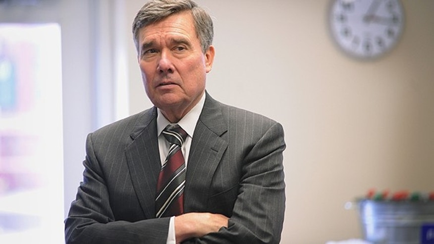 Feb. 22: White House Drug Control Policy Director Gil Kerlikowske talks with Veteran Affairs Medical Center staff before a meeting in Louisville, Ky.