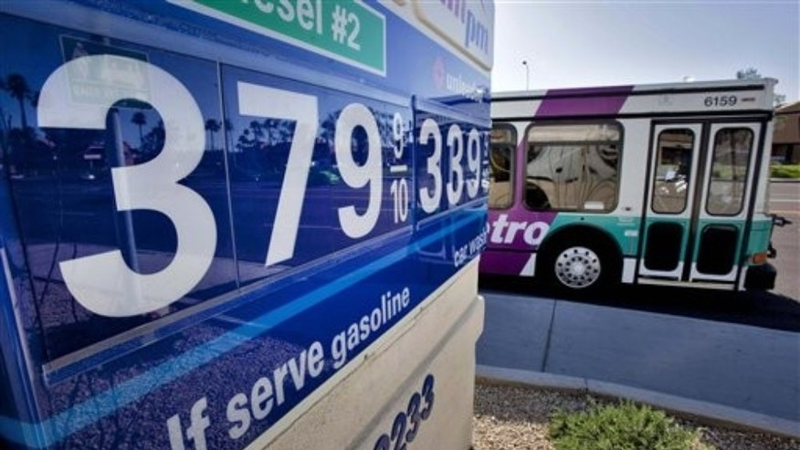 March 8, 2011 Tempe, Ariz.: As gas prices rise, the White House is forced to contemplate tapping the nation's reserves