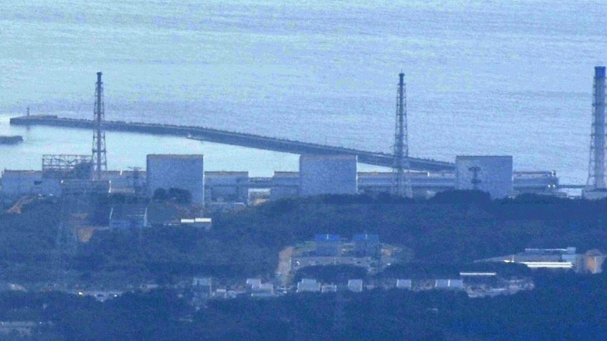 The damaged Fukushima Daiichi Nuclear Power Plant  (AP Photo/Kyodo News)
