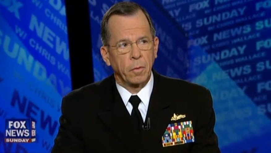 Adm. Mike Mullen, chairman of the Joint Chiefs of Staff