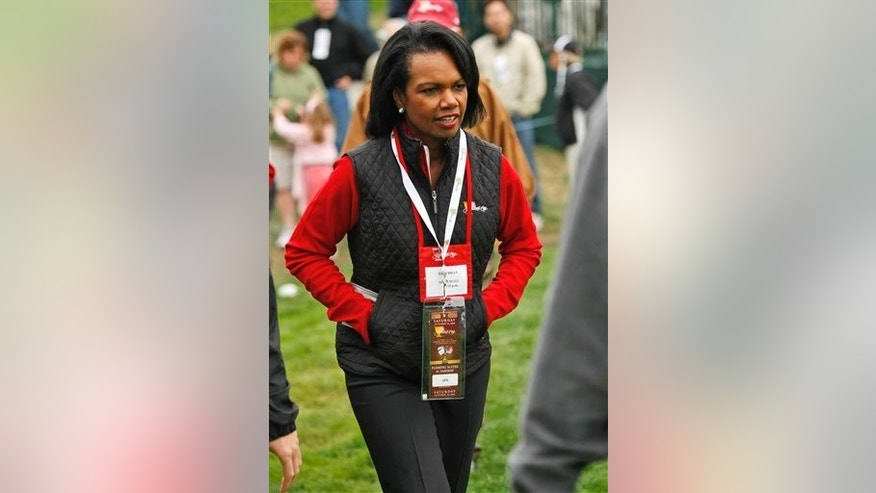 Condoleezza Rice at 2009 Presidents Cup