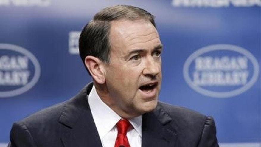 Former Gov. Mike Huckabee, possible 2012 GOP presidential candidate (AP Photo)