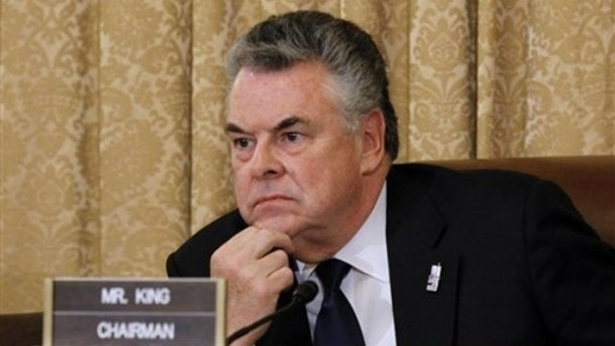 File Photo: A mysterious package was sent to Rep. Peter King's Washington office
